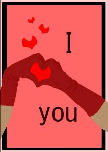 Liebe am Valentinstag