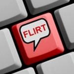 Flirten im Internet