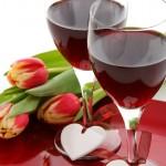Wein beim ersten Date